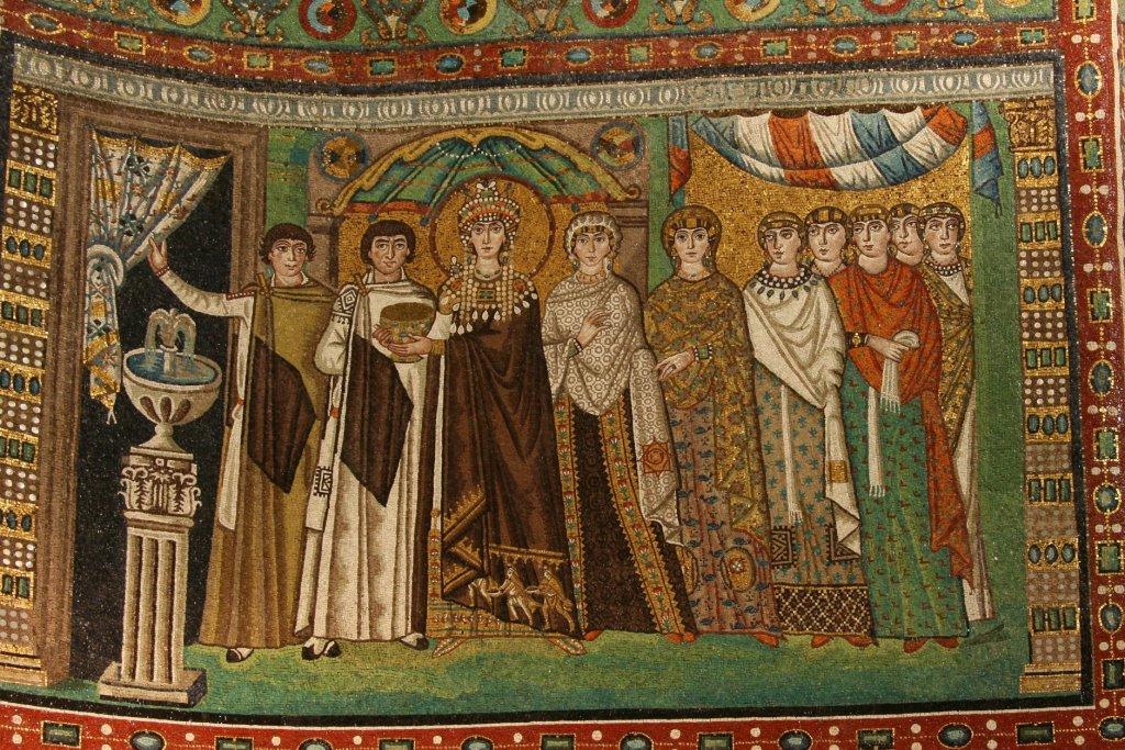 Mosaico chiesa San Vitale a Ravenna