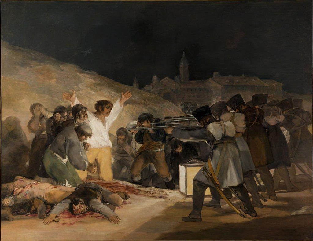 Francisco Goya, 3 maggio 1808