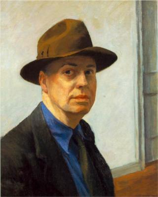 Edward Hopper - autoritratto
