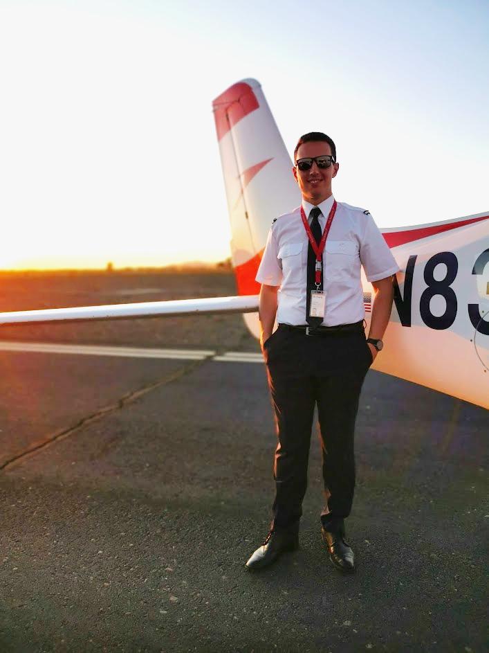 Diventare pilota: la storia di Gianluca